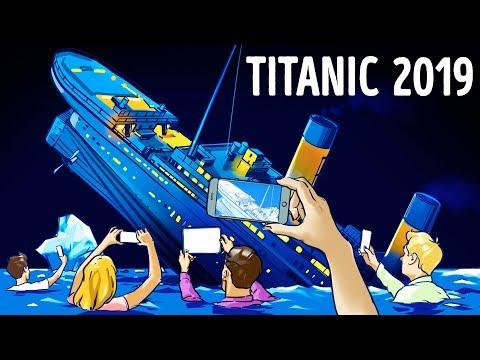 Apa Jadinya jika Titanic Tenggelam Hari Ini?