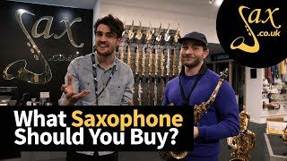Choosing your first Saxophone