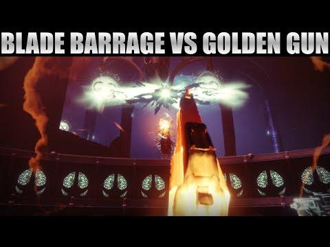 Blade Barrage Isnt Better Than Golden Gun! Blade Barrage vs. Celestial Nighthawk!