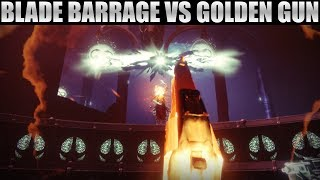 Blade Barrage Isn't Better Than Golden Gun! Blade Barrage vs. Celestial Nighthawk!