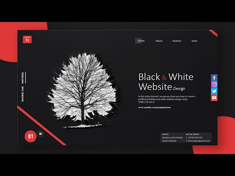 How to Create A Great Dark Website Design Using HTML And CSS | Going-To Internet thumbnail