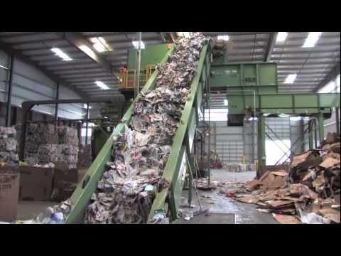 Modern Single Stream Recycling
