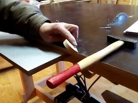 Циркулярная пила из ручной дисковой пилы