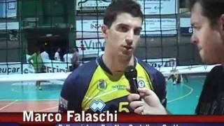 03-09-2011: Intervista a Marco Falaschi post Amichevole NewMater-Vibo