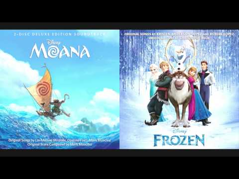 How Far I'll Let It Go - Auli'i Cravalho/Moana & Idina Menzel/Frozen Mashup Remake