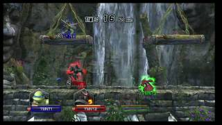 E3 2009: Teenage Mutant Ninja Turtles: Smash-Up Stage Demo