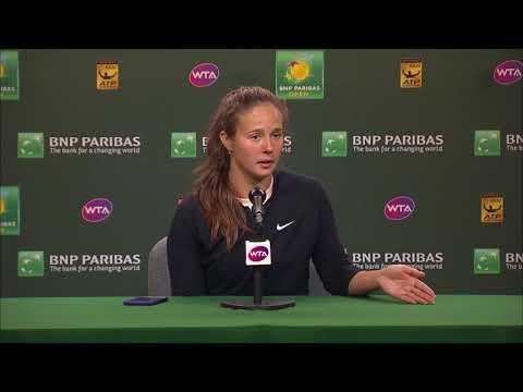 BNP Paribas Open 2018: Daria Kasatkina F Press Conference