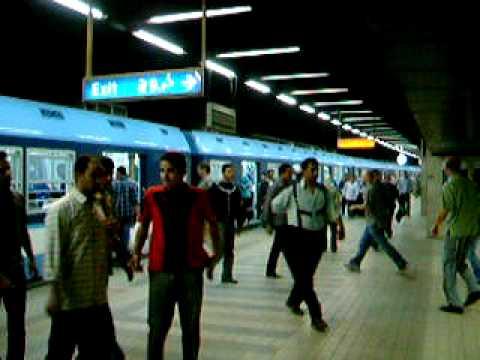 エジプトの地下鉄(Egypt Metro)