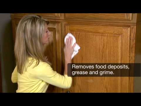 Magic Cabinet & Wood Cleaner-How to maintain and clean wood cabinets - half_res