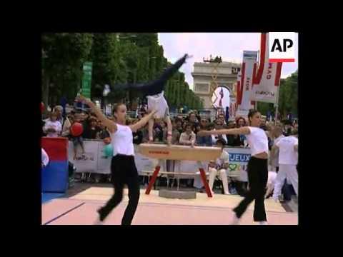 Activities To Promote Paris 2012 Olympic Bid