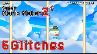 6 More New Glitches in Super Mario Maker 2