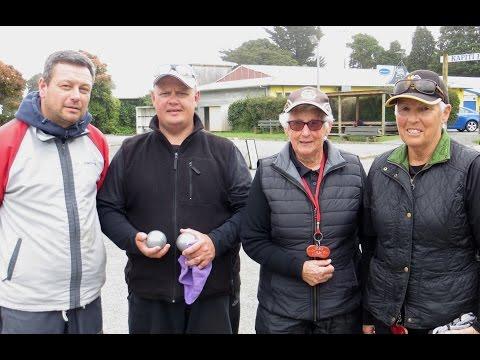 Wellington Petanque Regional Doubles final 2015