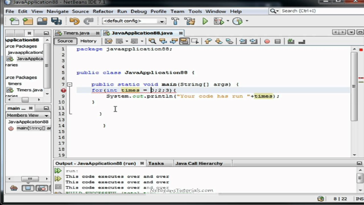 Java tutorial - How to use For loops