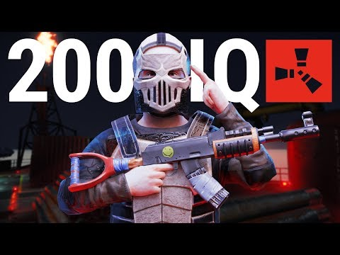 Rust - The 200IQ COUNTER RAID!