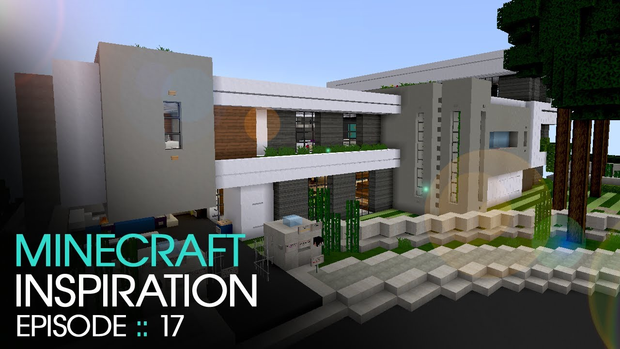Minecraft Modern Mountain House 2 Inspiration W