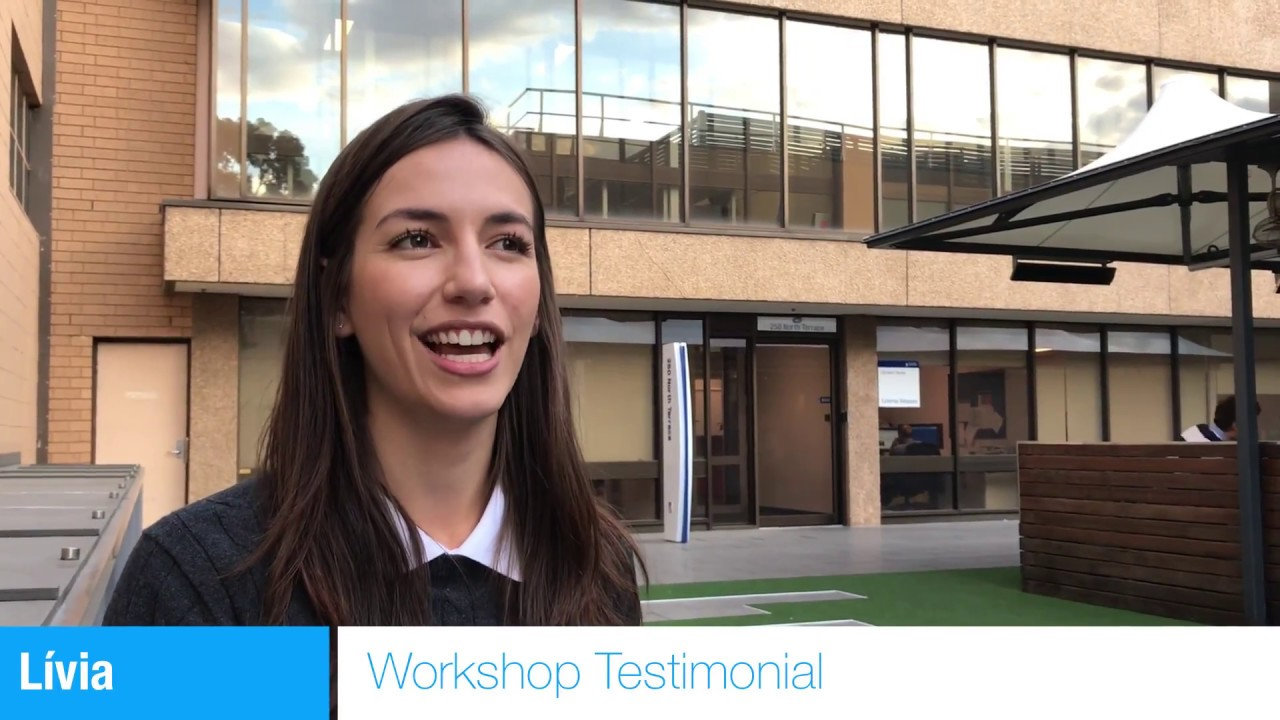 Animate Your Science Workshop - Lívia's Testimonial