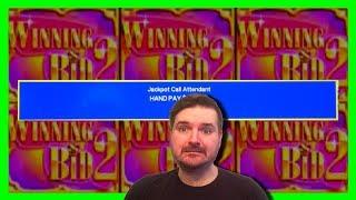 JACKPOT HANDPAY 💎 $20/SPIN 💎 Winning Bid 2 Slot Machine Bonuses W/ SDGuy1234