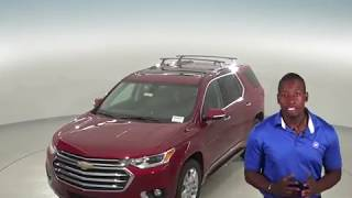 182625 - New, 2018, Chevrolet Traverse, High Country, AWD, SUV, Red, Test Drive, Review, For Sale -