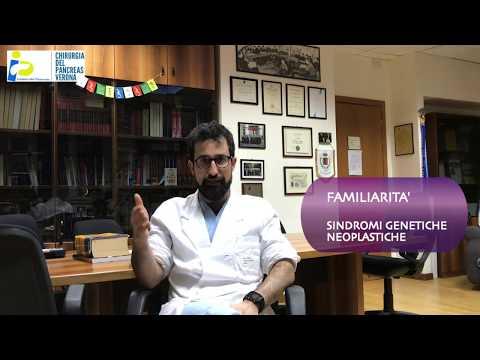 Il tumore del pancreas: cause e familiarità - Dott. Salvatore Paiella