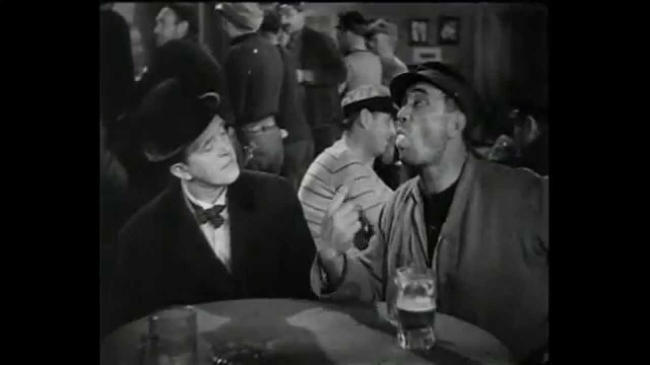 Download Egg in the mouth. Laurel and Hardy