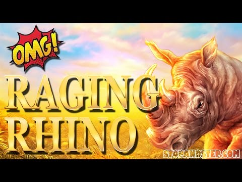 Huge MEGA Win on Raging Rhino