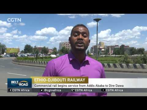 Commercial rail begins service from Addis Ababa to Dire Dawa