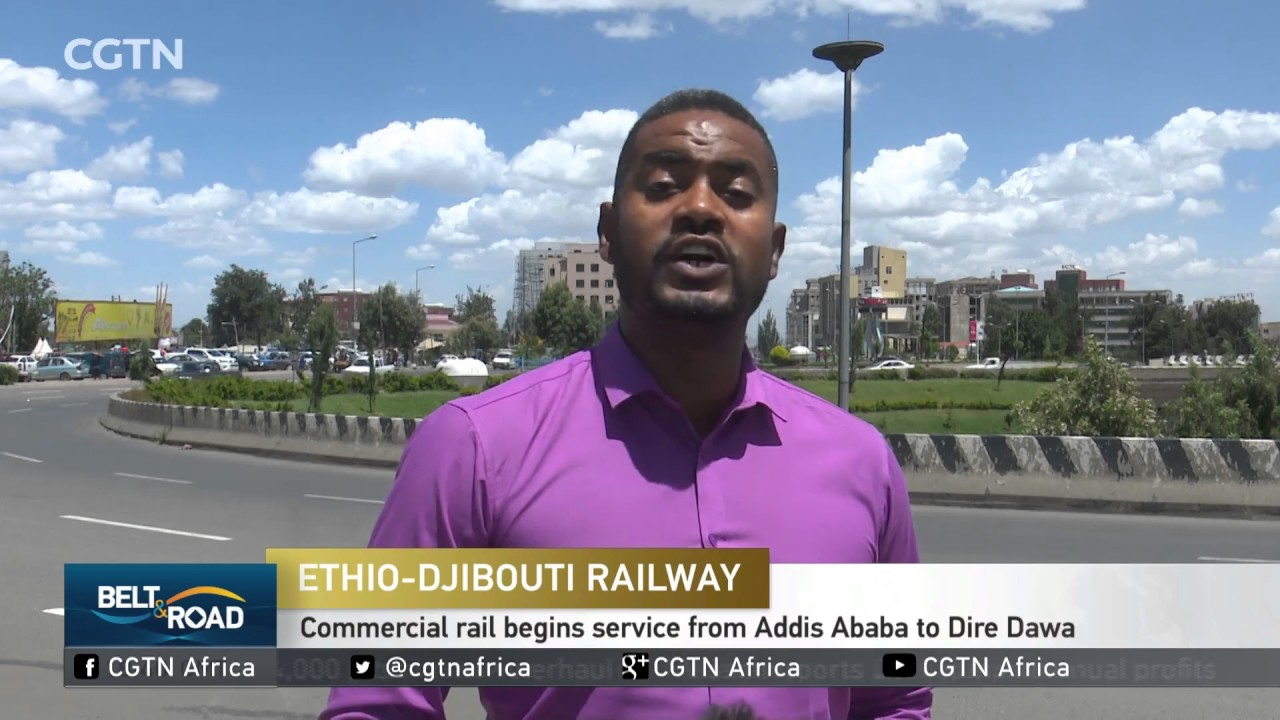 The Ethio-Djibouti railway begins service from Addis Ababa