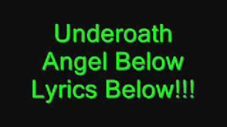 underoath angel below