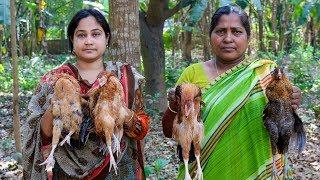 Chicken Roast: Bengali Chicken Roast Cooking Recipe in Village by Mom | Village Food Factory