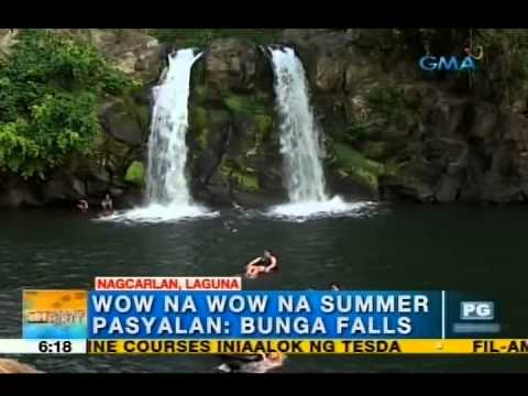Beat the summer heat in Nagcarlan, Laguna | Unang Hirit