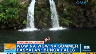 Beat the summer heat in Nagcarlan, Laguna | Unang Hirit