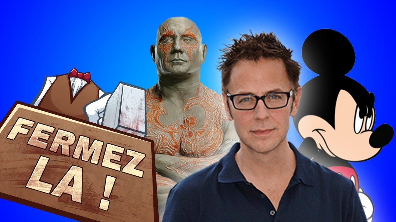 ***** Le Renvoi De James Gunn - Mini Fermez La *****