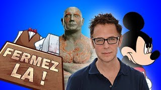 Le renvoi de James Gunn - Mini FERMEZ LA