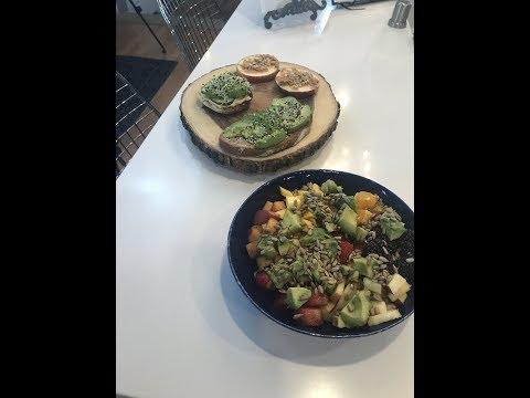 4 simple no cook vegan breakfasts!