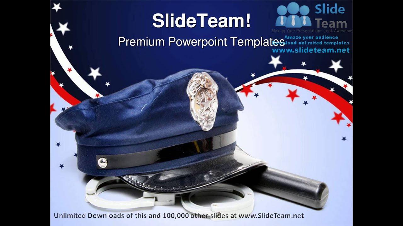 Police uniform americana powerpoint templates themes and backgrounds police uniform americana powerpoint templates themes and backgrounds ppt themes toneelgroepblik Image collections