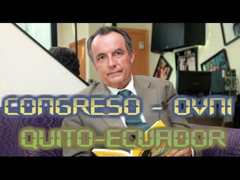 Ufólogo Jaime Rodríguez. Congreso OVNI (UFO) Quito - Ecuador . Alfa Y Omega.