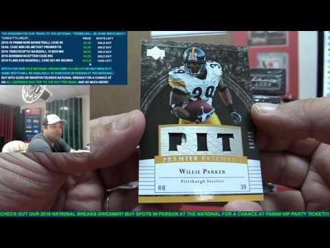 Dual NFL Case Break - 2016 Leaf Autographed Mini Helmets & 2