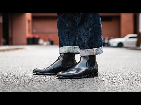 Black Chelsea Boots | Men's Outfit Inspiration