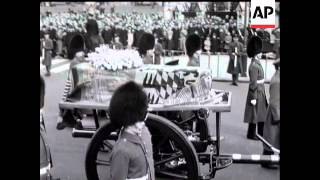 QUEEN MARY'S FUNERAL