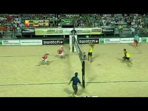 Great action between Germany and Brazil from Universal Sport