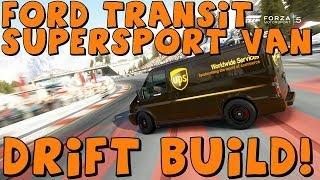 Forza 5 | 1,000 Horsepower Ford Transit SuperSport Van | Drift Build
