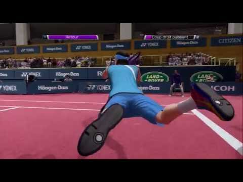 Virtua Tennis 4 - PS3 - World Tour - Gaming part 8