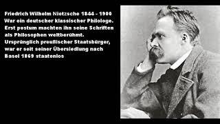 Genies am Sonntagmorgen - Kultur - Nietzsche