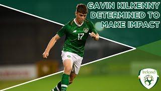 #IRLU21 INTERVIEW   Gavin Kilkenny determined to make U-21 impact