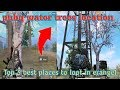 Pubg secret water trees location in Erangel || Best places to loot pubg mobile