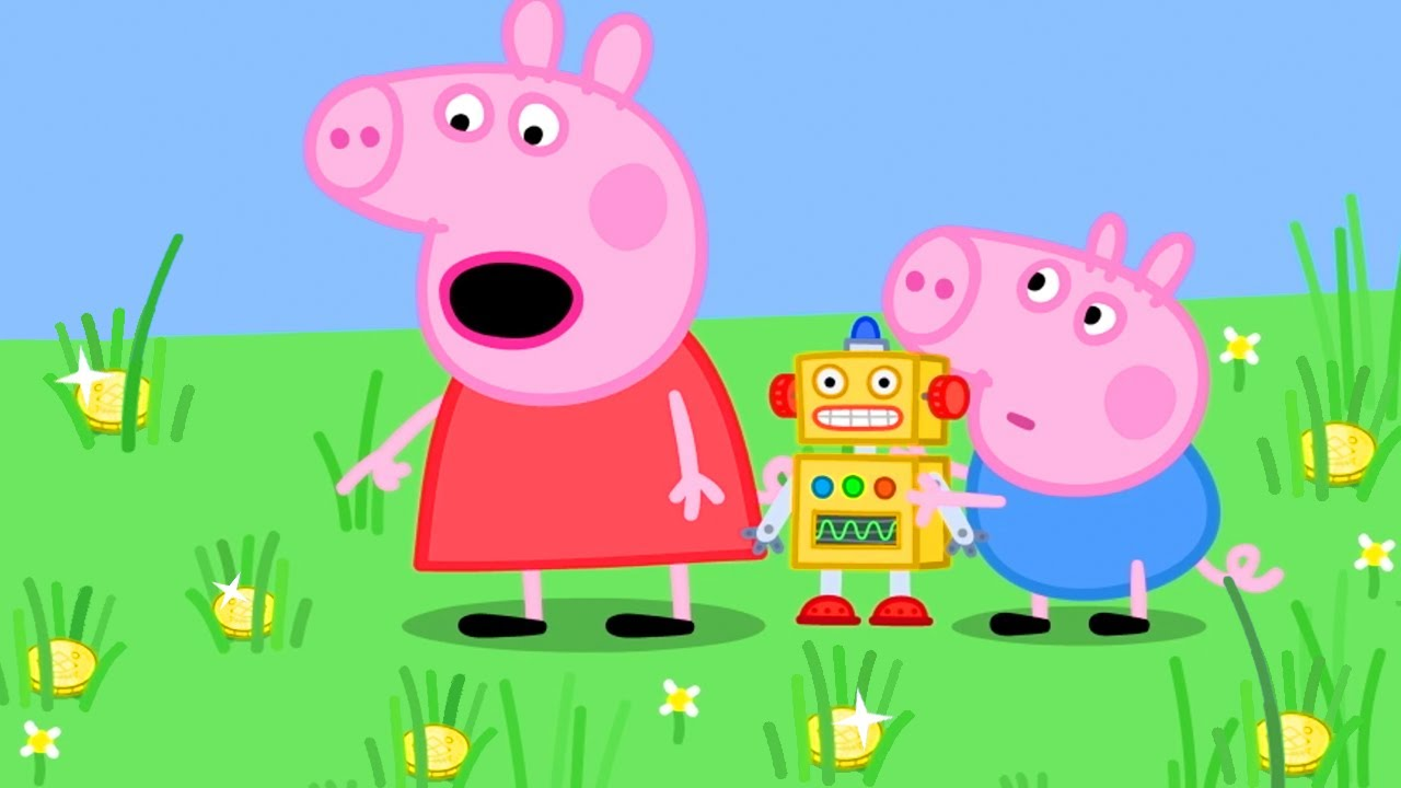 Peppa Pig Official Channel ? Peppa Pig's Treasure Hunt