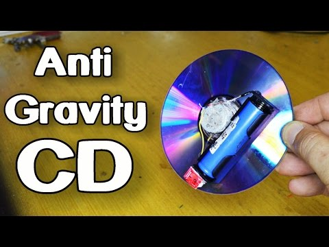 How To Make Anti Gravity CD Wheel!