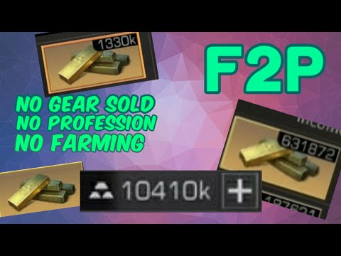Lifeafter | How I earned 10 million Gold bars as an F2P (No Gear sold, no profession, no farming)