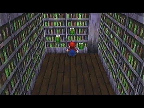 スーパーマリオ64DS,21「テレサのホラーハウス,3 本棚オバケの謎」