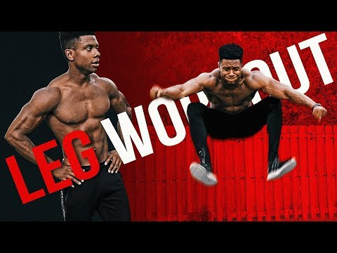 EXPLOSIVE Home Leg Workout Bodyweight Only